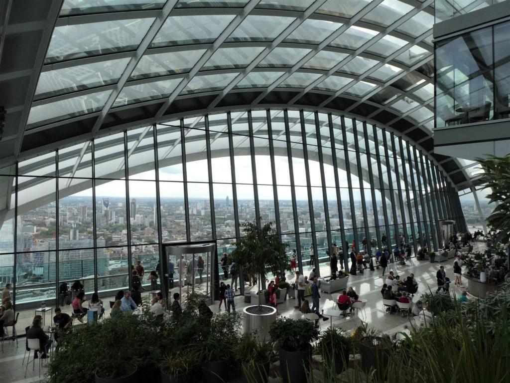 darmowe punkty widokowe Londyn