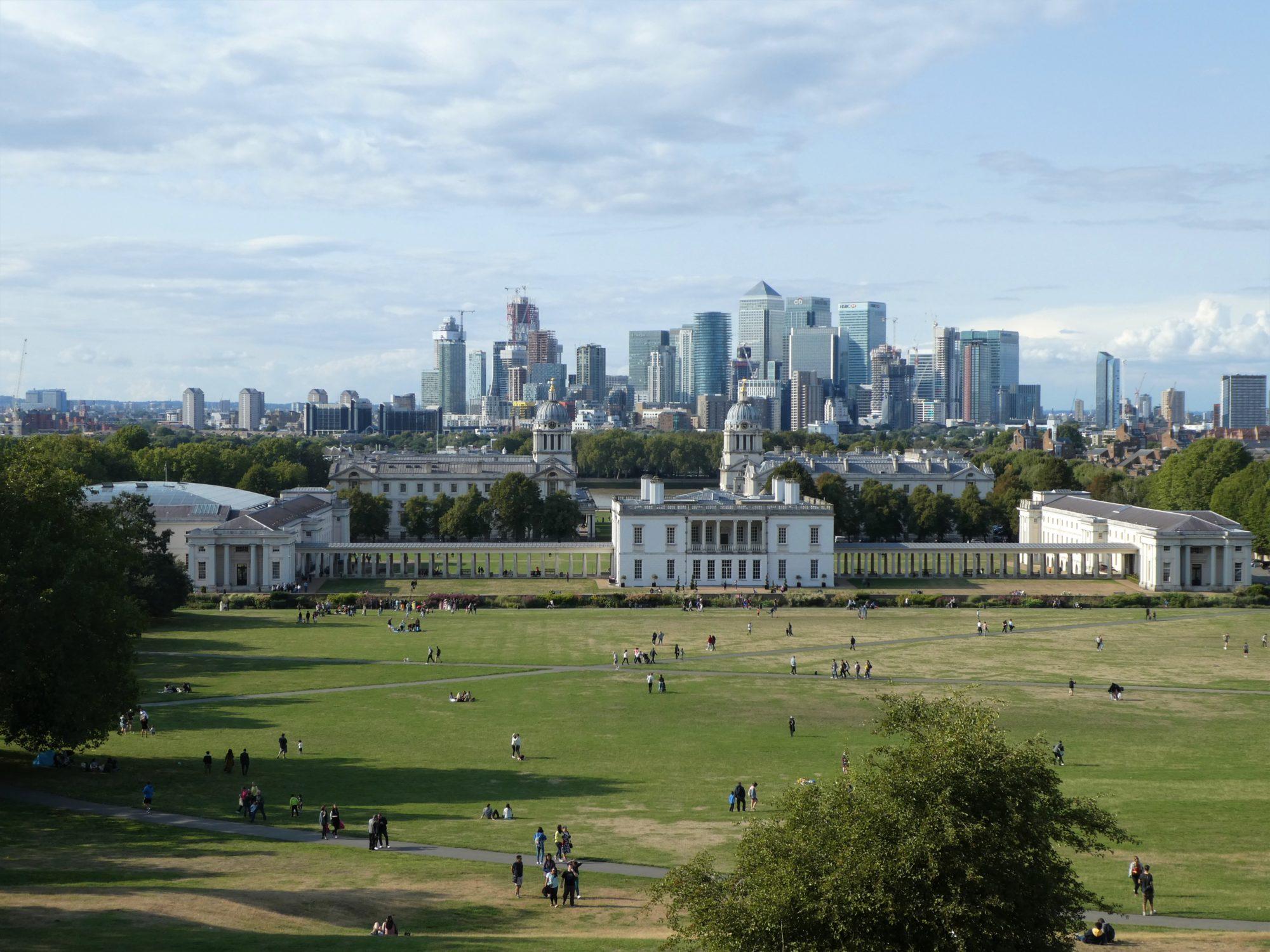 najlepsze punkty widokowe w Londynie Greenwich Park