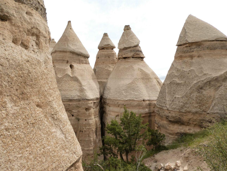 Kasha-Katuwe Tent Rocks – amerykańska Kapadocja