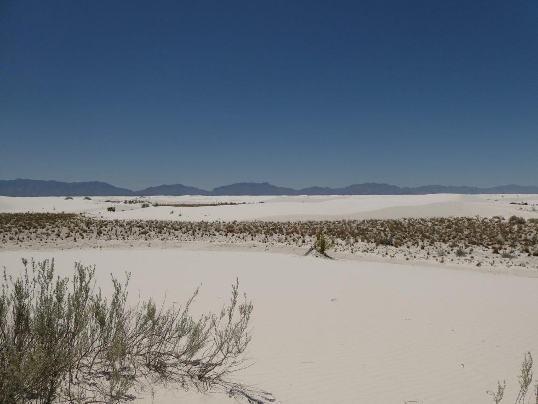 Park Narodowy White Sands – białe wydmy gipsowej pustyni