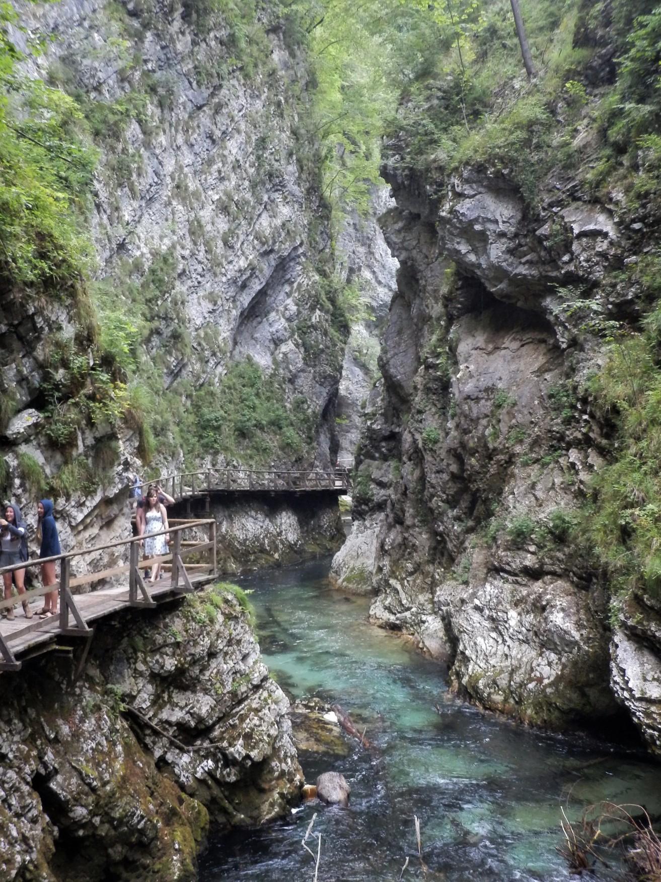 Vintgar atrakcje w Słowenii