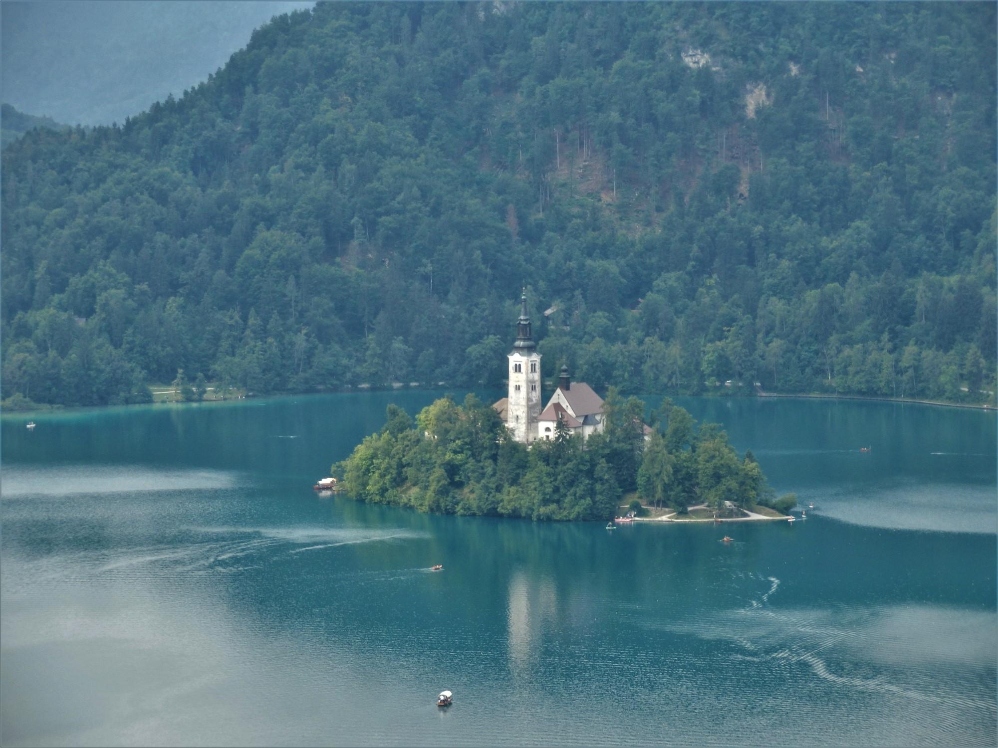 Jezioro Bled największe atrakcje w Słowenii